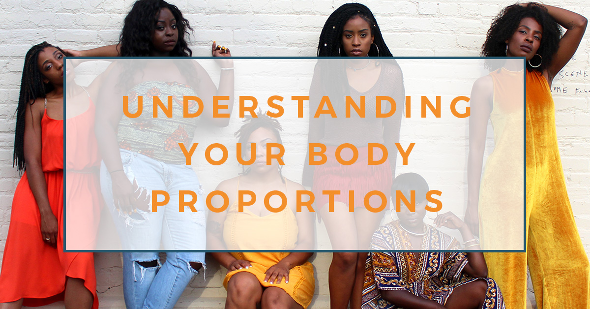 In order to sew better fitting clothes, you need an understanding of your body proportions. This post - Understanding Body Proportions - will help!