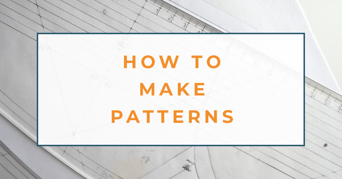 How To Make Patterns Pattern Making Pattern Drafting And Draping The Creative Curator