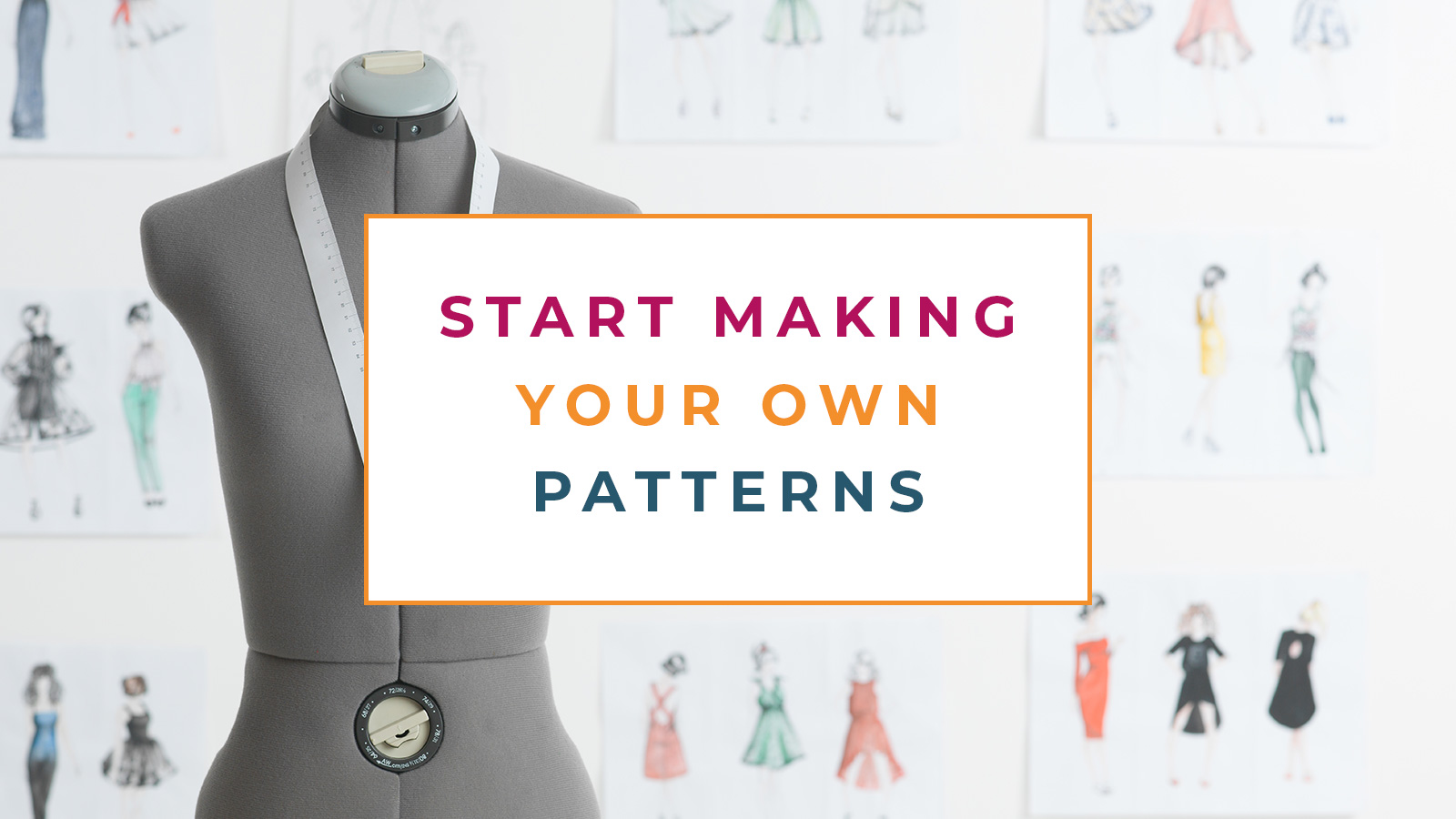 Pattern Making How To Start Making Your Own Patterns The Creative Curator
